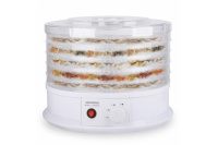 Food dehydrator with 5 adjustable trays