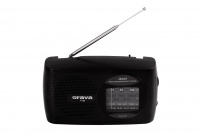 Portable FM/AM/SW radio.
