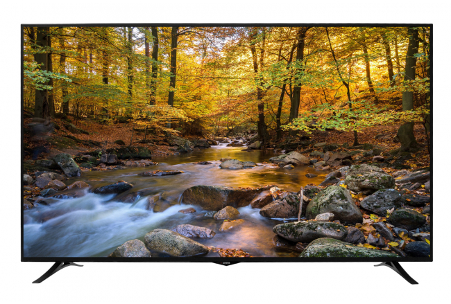 "75"" LED TV with 4K UHD and 1500 Hz"
