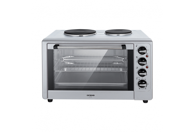 Electric oven with double plate 43L