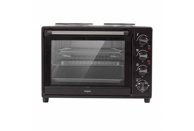 Electric oven with double plate 34L