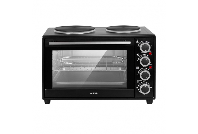 Electric oven with hot plates 28 L