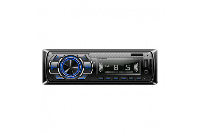 Bluetooth car radio with USB/SD