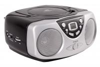 Portable SD/USB/CD stereo player with radio.