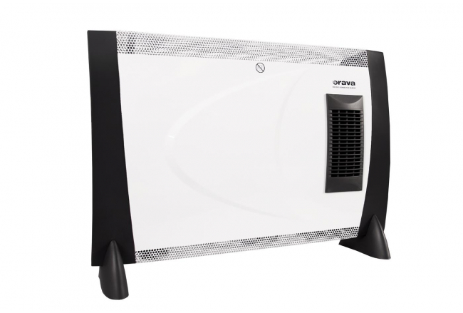 Convector with fan