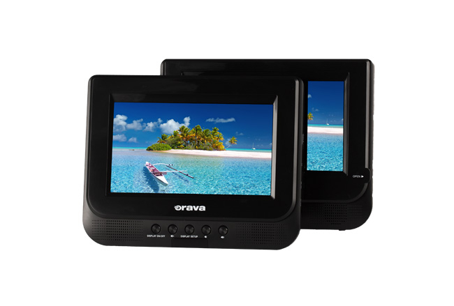 Portable DVD player with DVB-T2