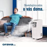 Nastavte si doma teplotu 🌬☀️aká vám vyhovuje. (17°C -30°C). Mobilná klimatizácia ACC-20 vám naviac umožní sušenie a čistenie okolitého vzduchu ventiláciou.#oravaelektro #teplota #mobilna #klimatizacia #cistenie #susenie