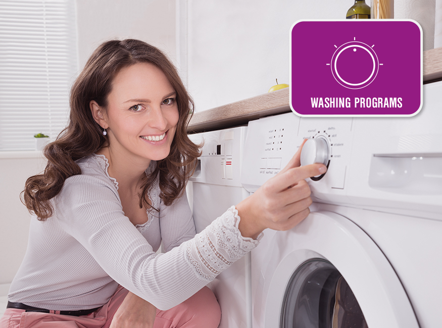 multiple washing programs