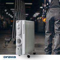  ☑️ Pracujete v chladnejších priestoroch?  ☑️ Často doma trávite čas v technickej miestnosti?  ☑️ Pokazilo sa vám doma kúrenie?  Spríjemnite si chladné dni pohodlným elektrickým olejovým radiátorom a robota vám hneď pôjde od ruky.   #oravaelektro #home #elektro #ohrievač #termostat #teplo